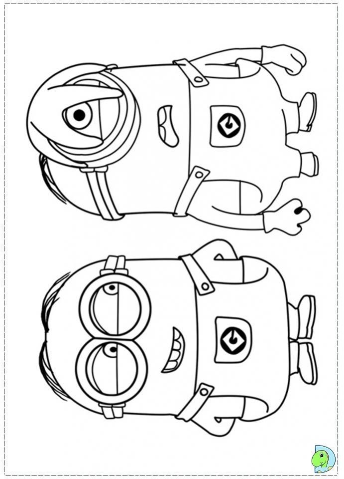 ภาพวาดระบายสีมินเนียน 10