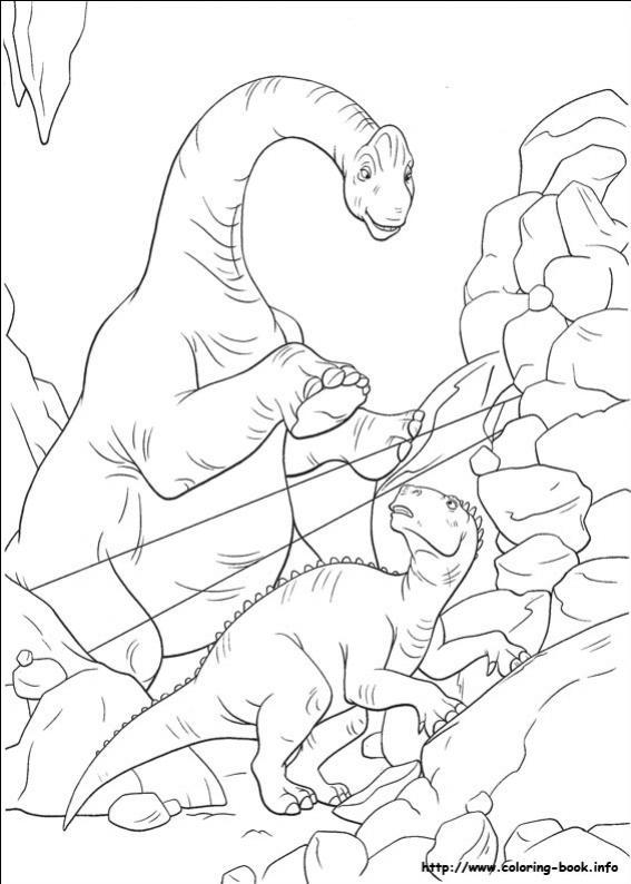 ภาพวาดระบายสี Dinosaur ไดโนเสาร์ ระบายสีไดโนเสาร์ให้สวยงาม