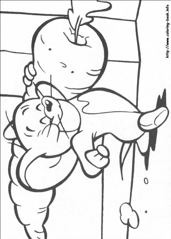 ภาพวาดระบายสีทอมกับเจอร์รี่ 33