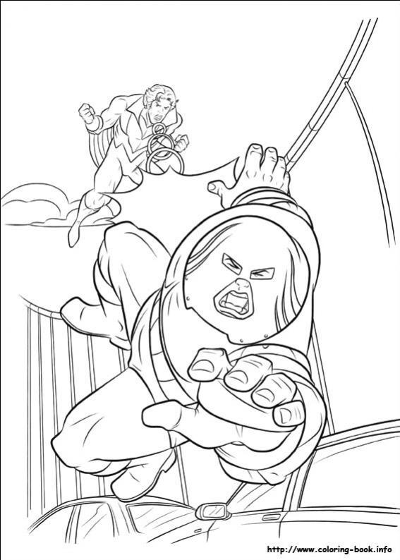 ภาพวาดระบายสีX-men 31