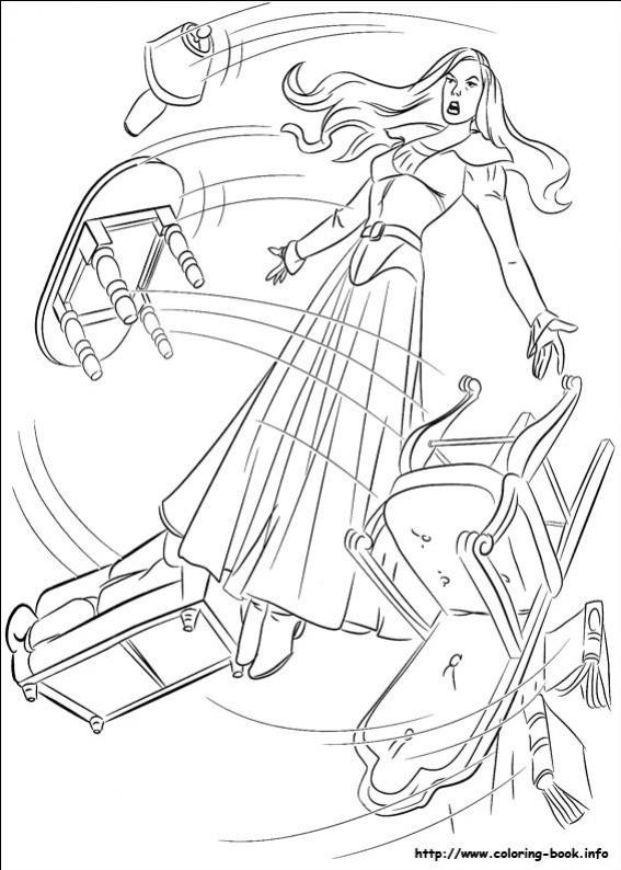 ภาพวาดระบายสีX-men 06