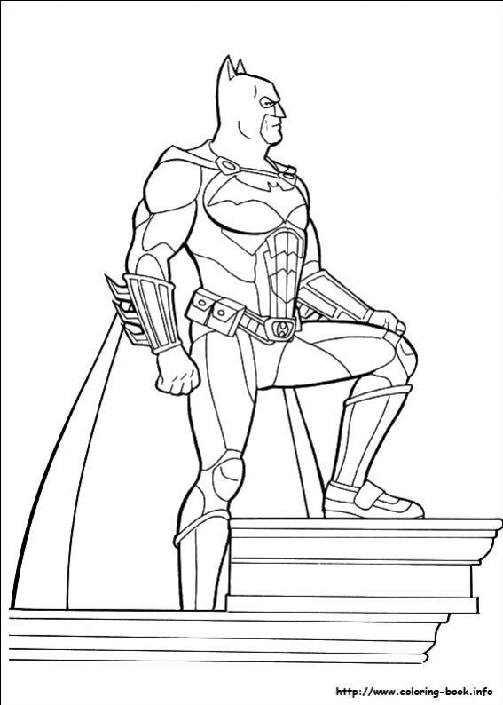 ภาพวาดระบายสีBatman 11