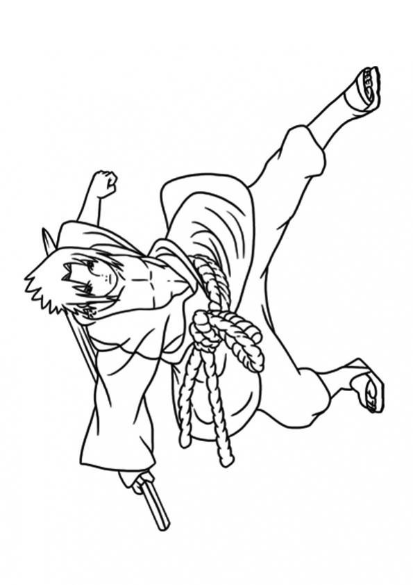 ภาพวาดระบายสีนารุโตะ 15