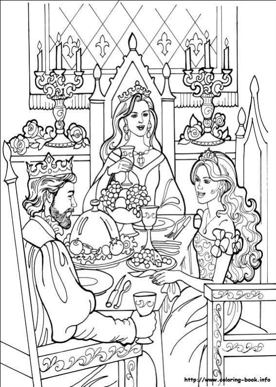 ภาพวาดระบายสีPrincess Leonora 18