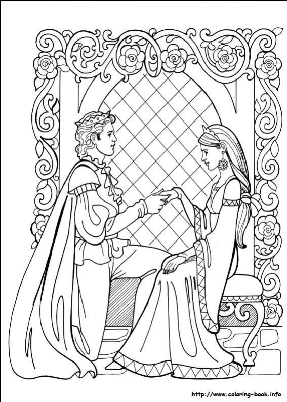 ภาพวาดระบายสีPrincess Leonora 23