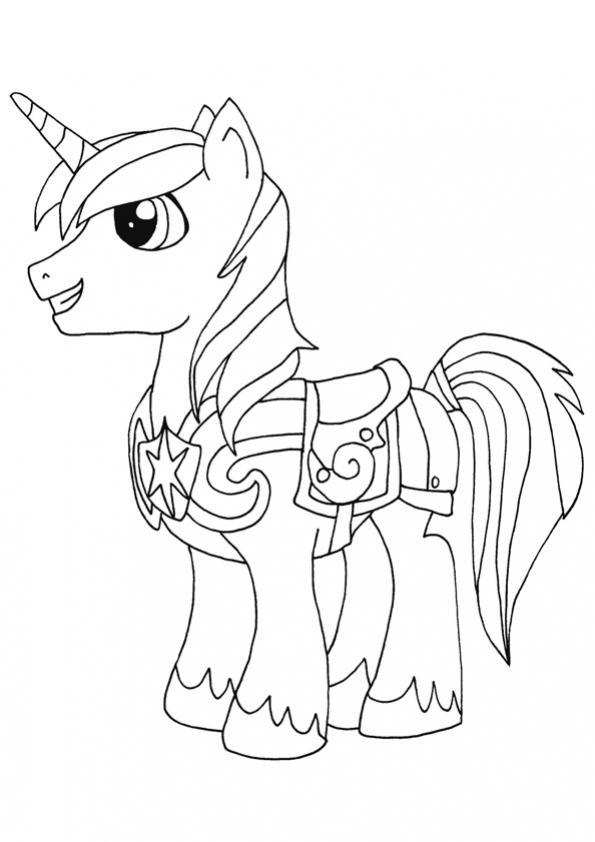 ภาพวาดระบายสีshining armor