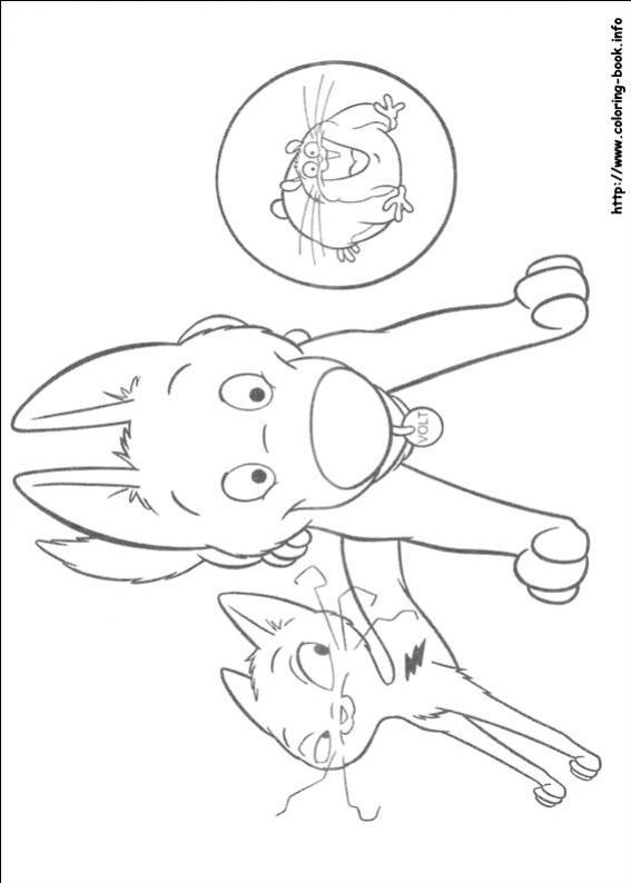ภาพวาดระบายสีโบลท์ ซูเปอร์โฮ่ง-52