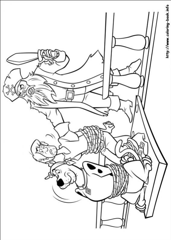 ภาพวาดระบายสีสกูบี้ถูกจับ